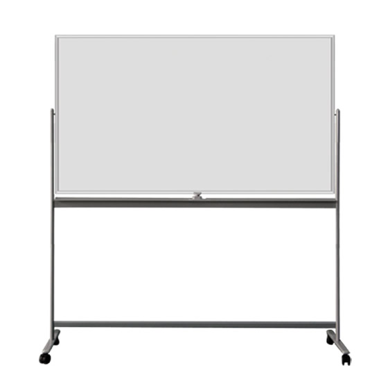 Double Sides Magnetic Enamel Whiteboard Mobile Stand