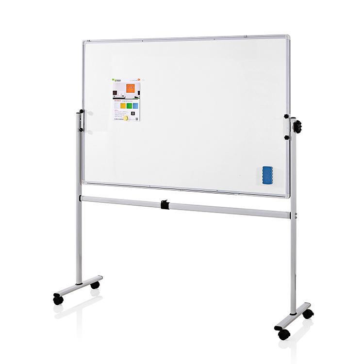 Height Adjustable Steel Mobile Whiteboard Easel