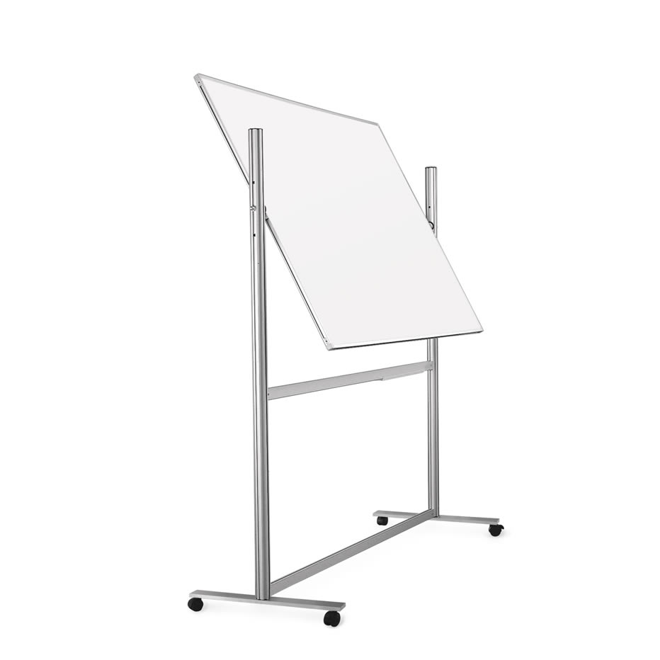 Mobile Rolling Pivoting Whiteboard