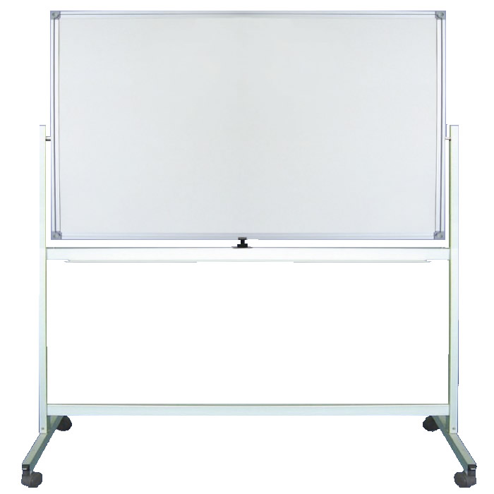 Reversible Mobile Whiteboard With Stand