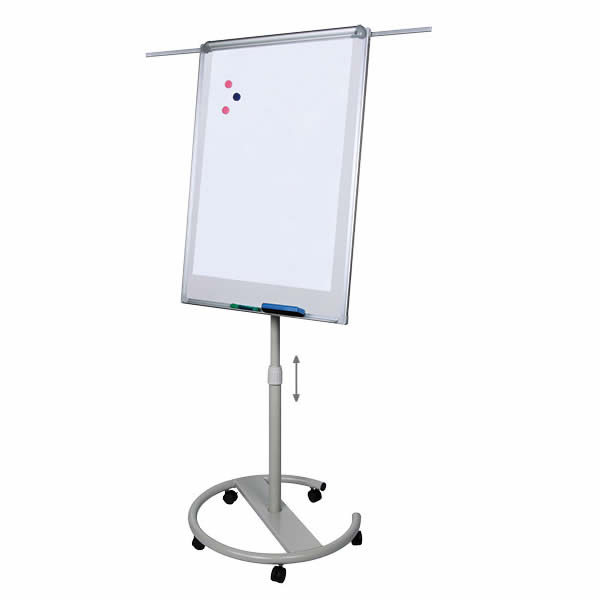 Height Adjustable Durable Moving Flipchart