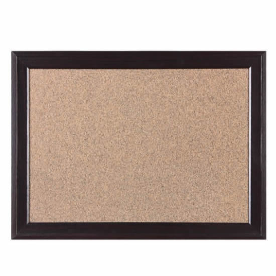 Heavy-duty Cork Board with Wood Frame