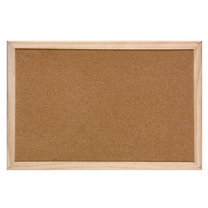 OEM, ODM Single Side Soft Cork Board Bulletin Board