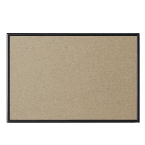 Black Wood Corkboard