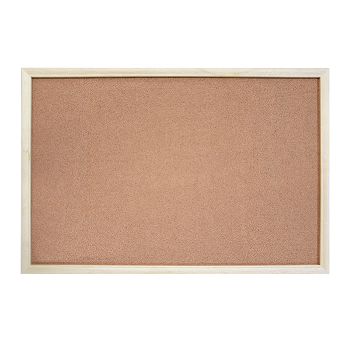 Solid Wood Cork Board for Message Notice