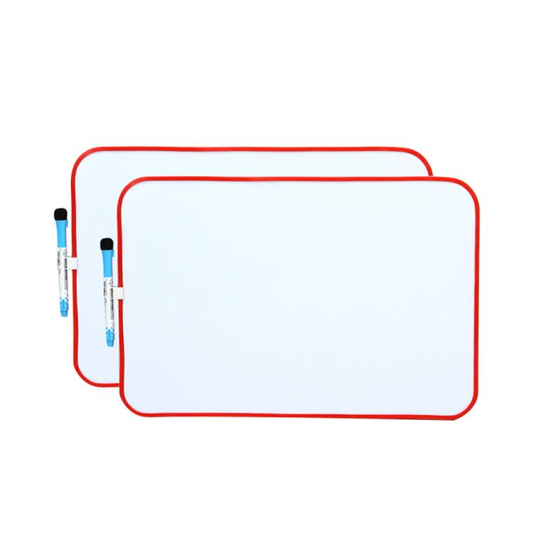 Two-Sided Kids Mini Plastic Frame Magnetic Whiteboard