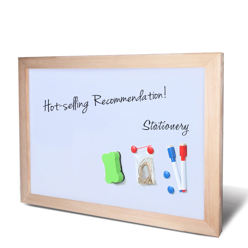 Wooden Frame Dry Erase Whiteboard for Education