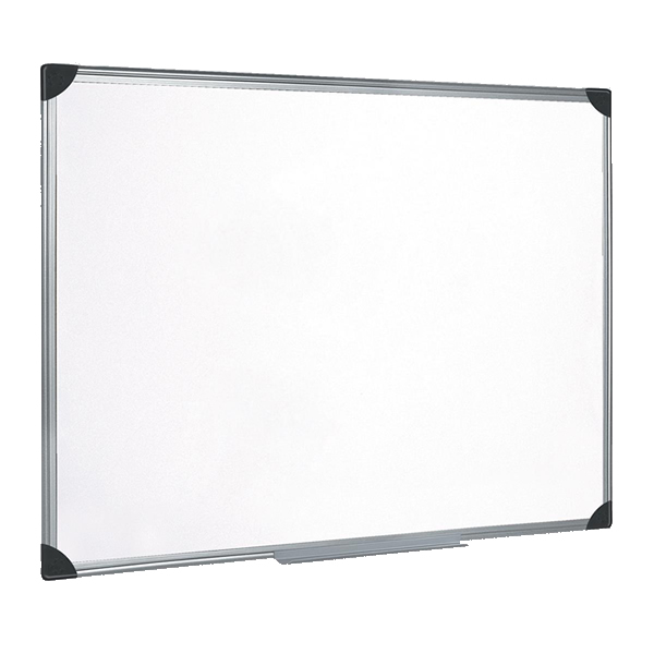 Magnetic Lacquered Steel Drywipe Whiteboard W900xH600mm