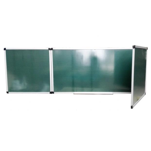 Double Sides Folding Green Chalkboard for School Teaching