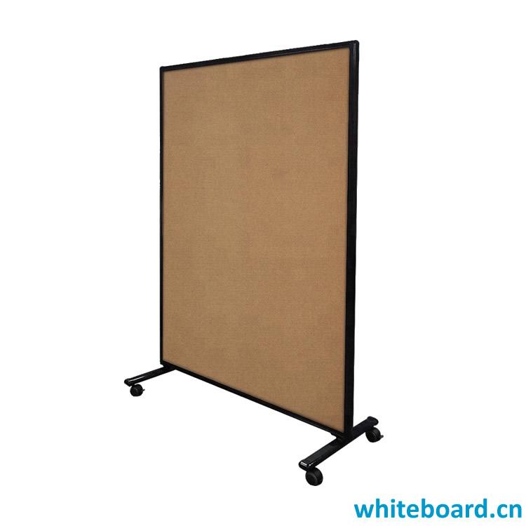 Aluminum Frame Free Standing Notice Corkboard Stand