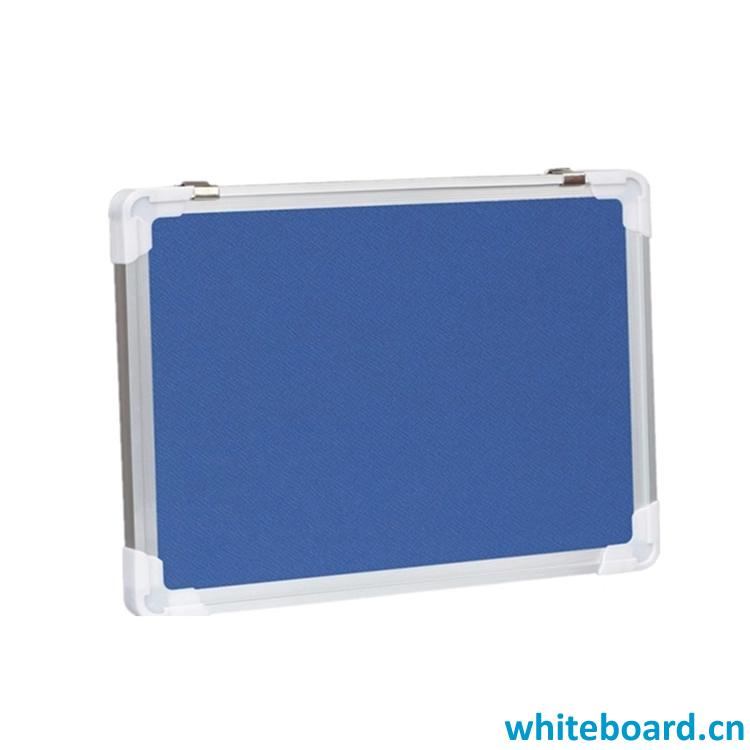 Blue Felt Fabric Bulletin Board
