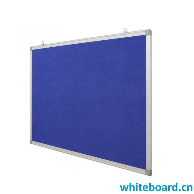 Classroom Hanging Blue Felt Notice Board