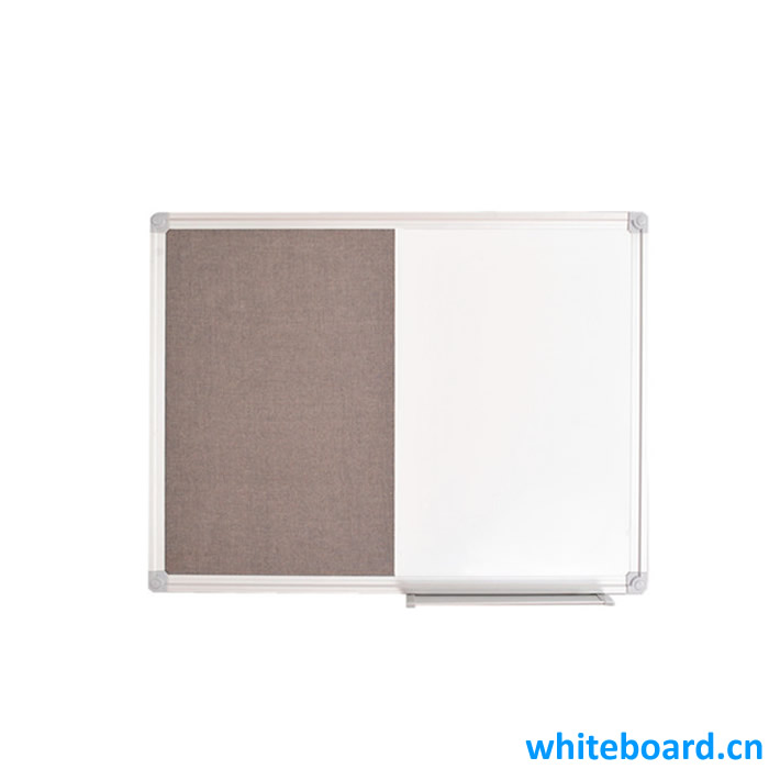 Combo Board Felt Dry-Erase Board with Tray