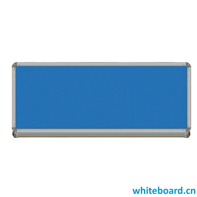 Fabric Covered Large Cork Bulletin Wall Pin Board