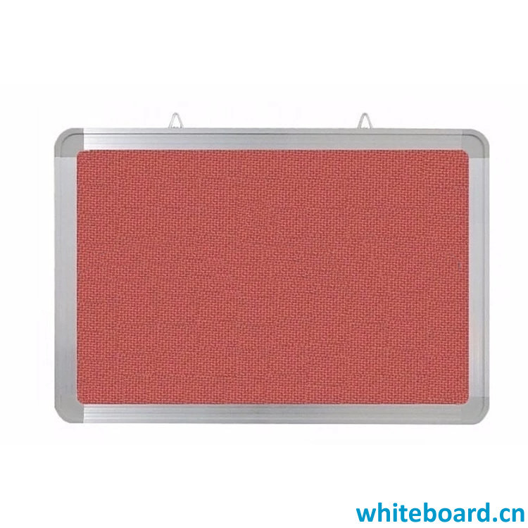 Galvanized Steel Panel Back Flannel Display Board