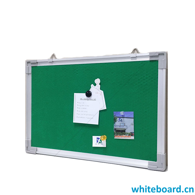 Green Straight Hanging Fabric Board
