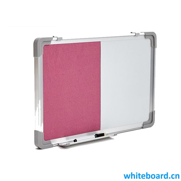 Half Fabric Board Half Whiteboard