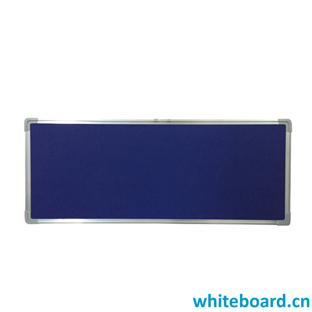 Horizontal Push Pin Felt Board