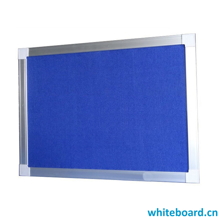 School Office General Use Blue Pin Fabric Board