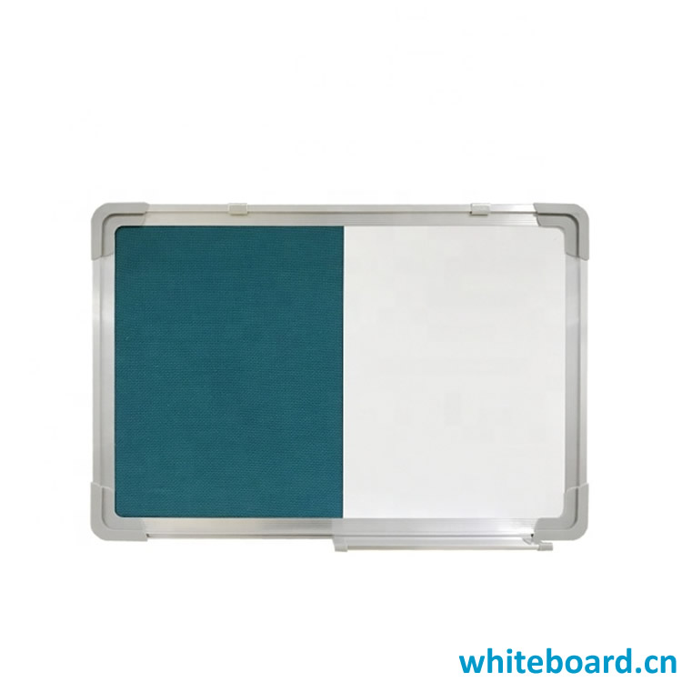 Whiteboard and Felt Board Combination
