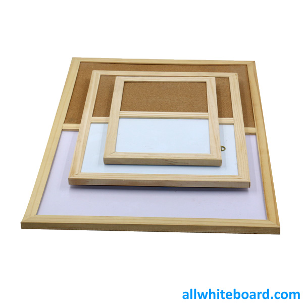 Combination Cork Board Dry Erase Magnetic Board
